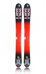 Lyže snowblade WEX Mini-SOFT 99 - Red