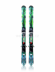 Lyže WEX SoftMax 124 Cross / Mandarin Green / set s vázáním M10