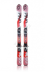 Set lyže Völkl CODE 7,4 - 135cm - Red