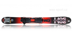 Set snowblade WEX Mini-SOFT Rodeo 99 Red - s montáží vázání