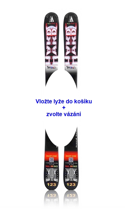Lyže Wex HARD 123 - Triax 3DR - Race Viking